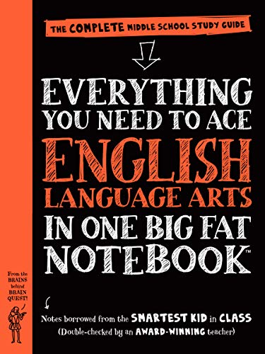 9780761160915: Everything You Need to Ace English Language Arts in One Big Fat Notebook: The Complete Middle School Study Guide (Big Fat Notebooks)