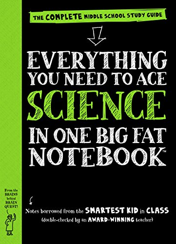 9780761160953: Everything You Need to Ace Science in One Big Fat Notebook: The Complete Middle School Study Guide (Big Fat Notebooks)