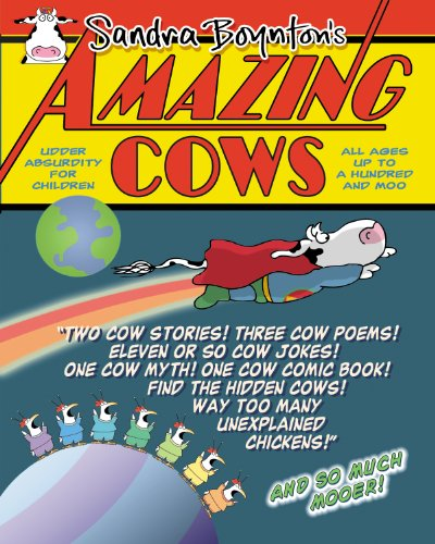 9780761162148: Amazing Cows!: A Book of Bovinely Inspired Misinformation