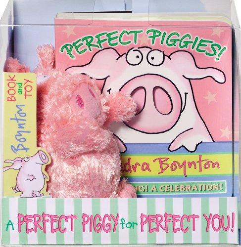 9780761162308: Perfect Piggies! [With Plush] (Boynton on Board)