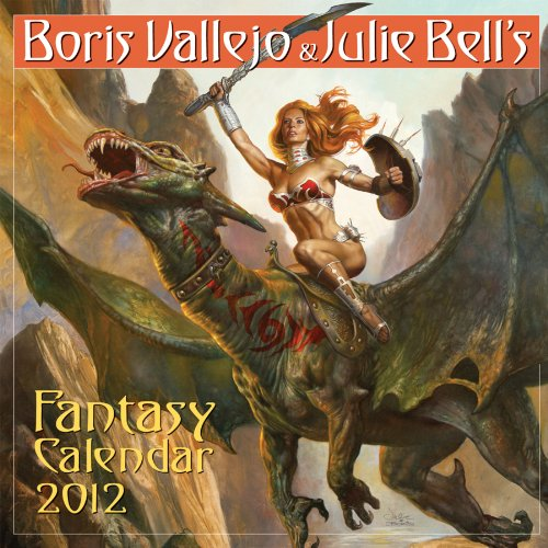 9780761162469: Boris Vallejo & Julie Bell's Fantasy Calendar