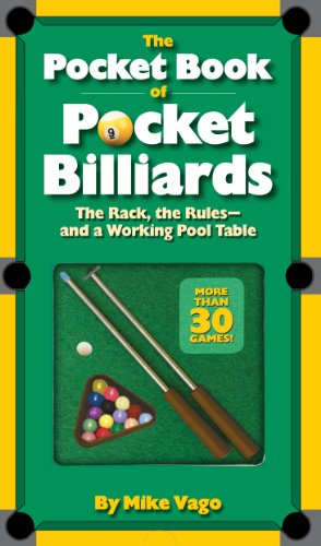9780761162506: The Pocket Book of Pocket Billiards: The Rack, the Rules and a Working Pool Table