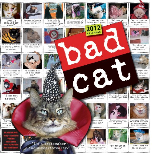 Bad Cat 2012 Wall Calendar: Workman Publishing