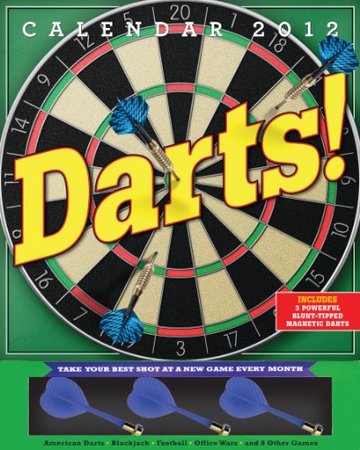 9780761162650: Darts! Calendar [With 3 Blunt-Tipped Magnetic Darts]