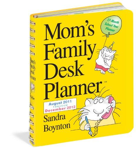 9780761162704: Mom's Family Desk Planner