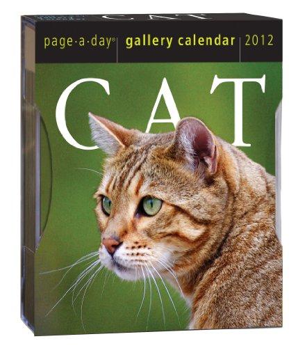 9780761162858: Cat 2012 Gallery Calendar