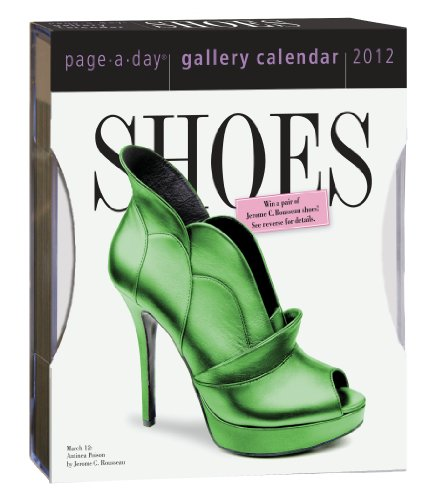 Shoes 2012 Gallery Calendar (Page a Day Gallery Calendar): Workman Publishing