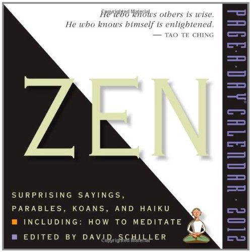 Zen 2012 Calendar: Schiller, David