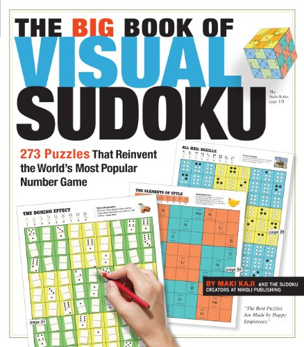 9780761165798: The Big Book of Visual Sudoku: 273 Puzzles that Reinvent the World's Most Popular Number Game