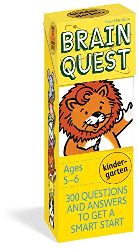 9780761166603: Brain Quest Kindergarten, revised 4th edition: 300 Questions and Answers to Get a Smart Start