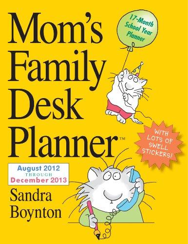 9780761166955: Mom's Family Desk Planner