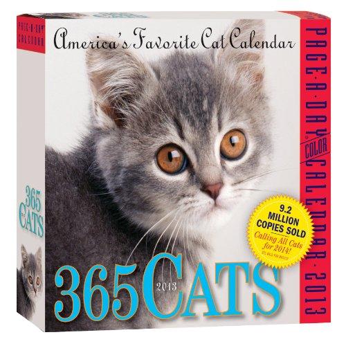 9780761167129: 365 Cats Calendar 2013