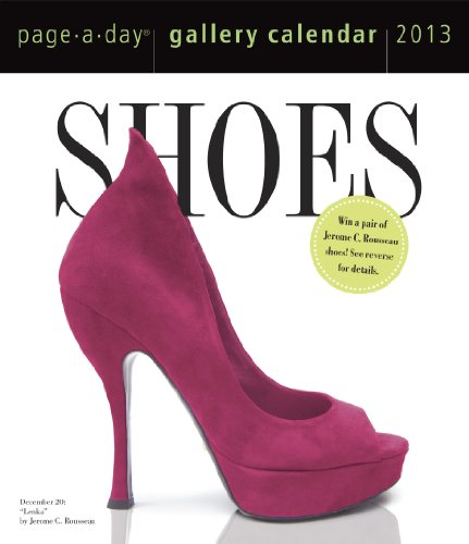 9780761167341: Shoes Gallery 2013 (Page a Day Gallery Calendar)