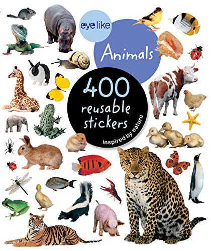 9780761169338: EyeLike Stickers: Animals: 400 reusable stickers inspired by nature