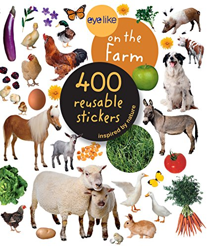 9780761169369: Eyelike on the Farm Stickers: 400 Reusable Inspired by Nature Stickers