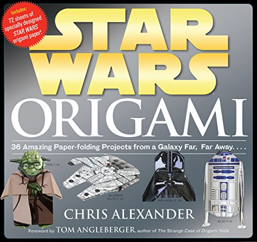 9780761169437: Star Wars Origami: 36 Amazing Paper-folding Projects from a Galaxy Far, Far Away....