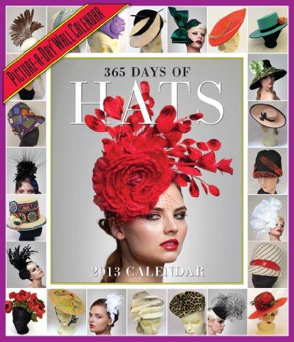 365 Days of Hats 2013 Wall Calendar: Workman Publishing
