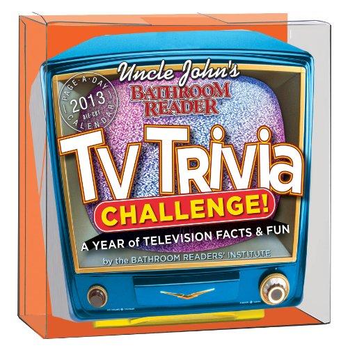 9780761170068: Uncle John's TV Trivia Challenge 2013