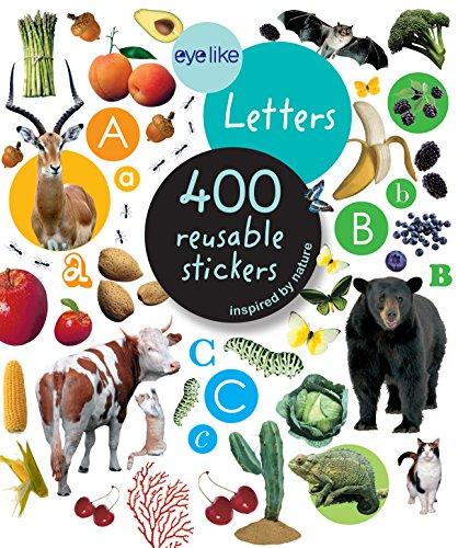 9780761171393: Eyelike Stickers: Letters