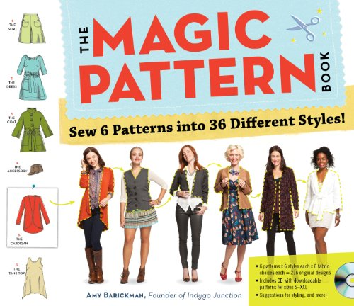 9780761171621: The Magic Pattern Book: Sew 6 Patterns into 36 Different Styles!
