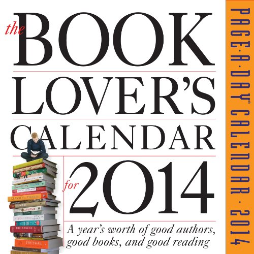 9780761172956: The Book Lover's 2014 Page-A-Day Calendar