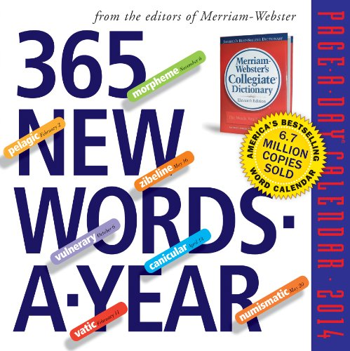 9780761172963: 365 New Words-A-Year 2014 Page-A-Day Calendar
