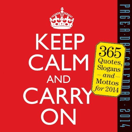 9780761173182: Keep Calm and Carry On 2014 Page-A-Day Calendar