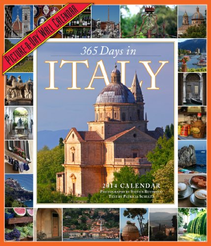 9780761173205: 365 Days in Italy 2014 Wall Calendar