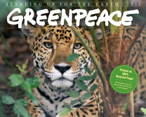 9780761173359: Greenpeace 2014 Calendar: Standing Up for the Earth