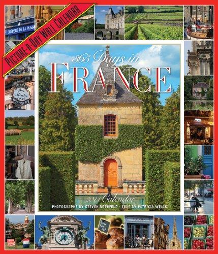 365 Days in France 2014 Wall Calendar: Schultz, Patricia