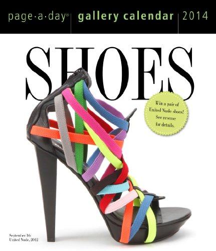 9780761173601: Shoes 2014 Gallery Calendar