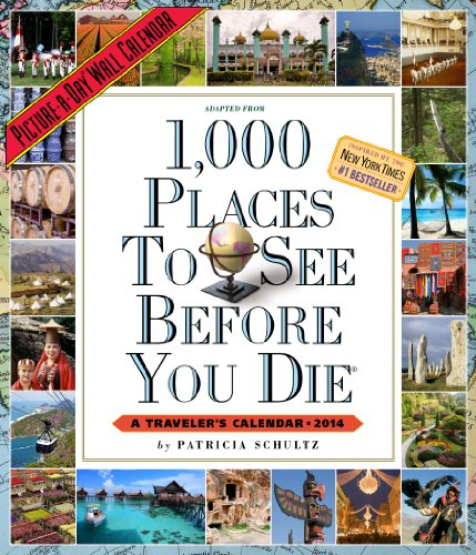 9780761173625: 1,000 Places to See Before You Die 2014 Calendar