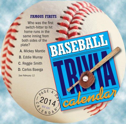 9780761173649: Baseball Trivia 2014 Calendar