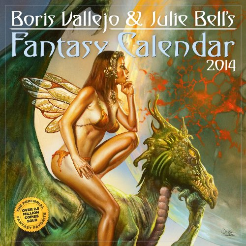 9780761173830: Boris Vallejo & Julie Bell's Fantasy 2014 Calendar