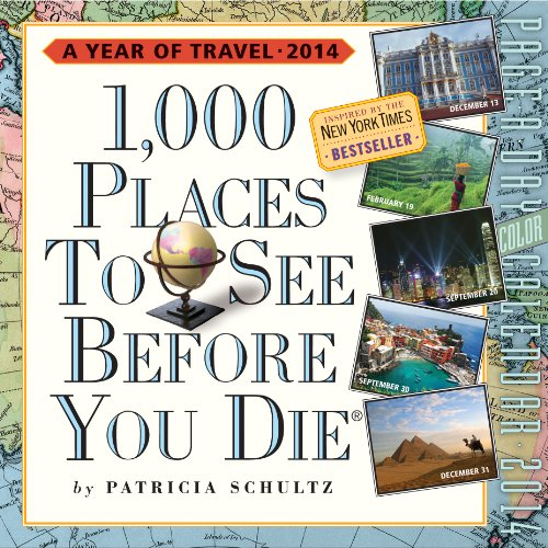 9780761173991: 1,000 Places to See Before You Die 2014 Calendar