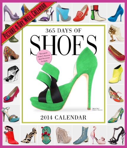 9780761174080: 365 Days of Shoes 2014 Wall Calendar