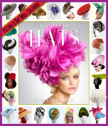 9780761174585: 365 Days of Hats 2014 Wall Calendar