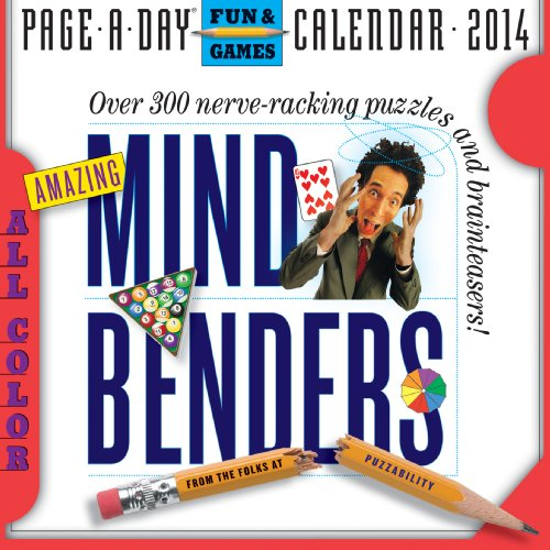 9780761174615: Amazing Mind Benders 2014 Page-A-Day Calendar