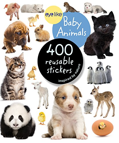9780761174837: Eyelike Stickers: Baby Animals