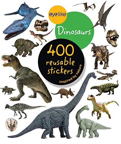 9780761174844: Eyelike Stickers: Dinosaurs