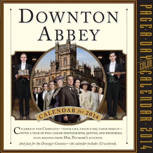 9780761176428: Downton Abbey 2014 Page-a-Day Calendar