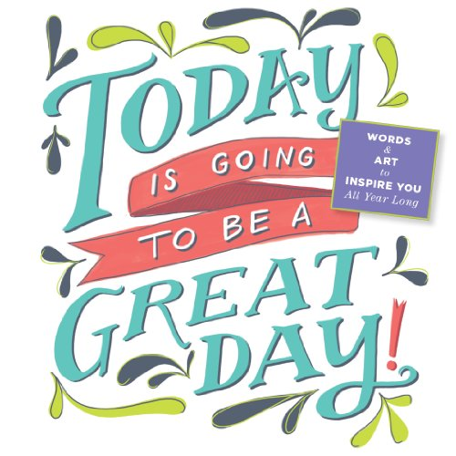 9780761177302: Today is Going To Be A Great Day! 2014 Mini Wall Calendar