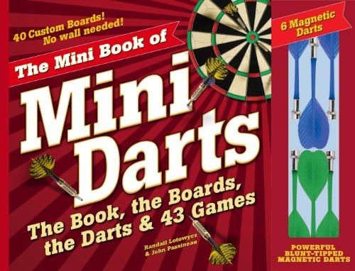 9780761177432: Mini Book of Mini Darts!: The Book, the Boards, the Darts, and 43 Games