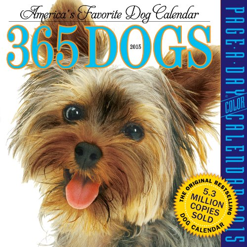 9780761177524: 365 Dogs 2015 Page-A-Day Calendar