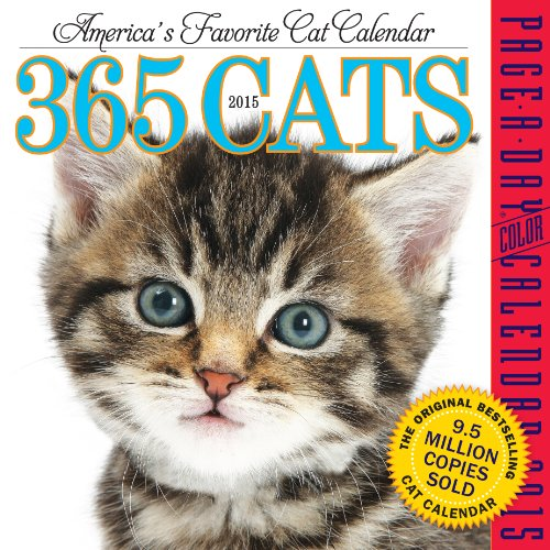 9780761177531: 365 Cats 2015 Page-A-Day Calendar