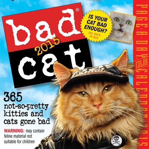 9780761177739: Bad Cat 2015 Page-A-Day Calendar