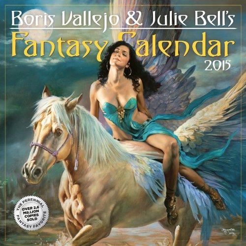 9780761177791: Boris Vallejo & Julie Bell's Fantasy 2015 Calendar