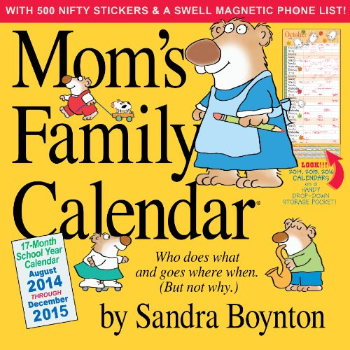 9780761177807: Mom's Family Calendar [With Sticker(s) and Magnetic Board]
