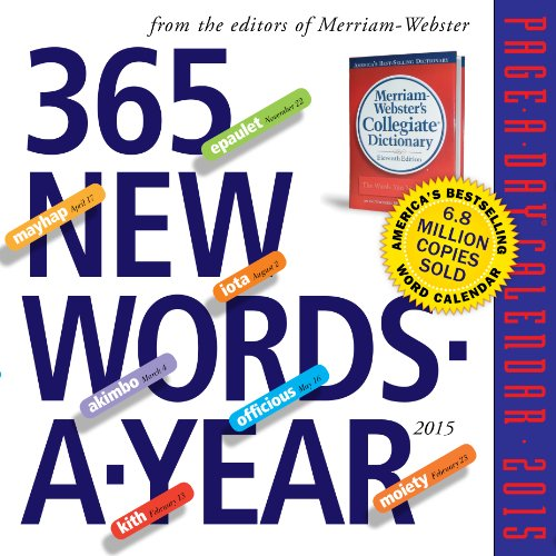 9780761177999: 365 New Words-A-Year 2015 Page-A-Day Calendar