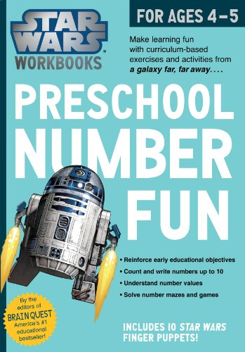 9780761178026: Star Wars Workbook: Preschool Number Fun!